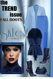 The Trend Issue--Fall Boots