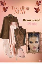 Trending Now--Brown and Pink