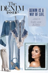 The Denim Issue--Blue Jean Baby