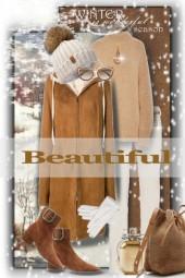 Beautiful winter season