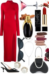 Red and Black Fashion
