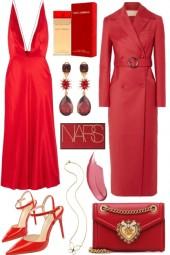 309 scarlet red
