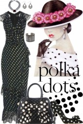 Anita Dotted Ruffled Dress!