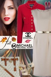 Michael Kors & Chanel Vintage Jacket For Fall!