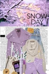 A Purplely Kinda Snow Day