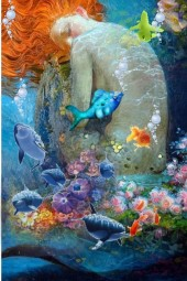 UNDER THE SEA THE MERMAID AND ME ♥