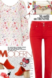 My Red Outfit on TrendMe