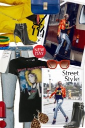 Inside Out Jeans Street Style
