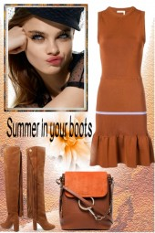 Summer in your boots