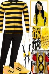 Bit Yellow, some stripes