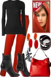 BLACK RED GIRL