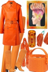 ALL ORANGE, MAKE THE WINTER SUNNY