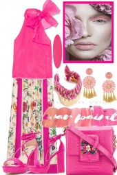 FOR PARTY TIME PINK IS ALWAYS A GOOD CHOICE