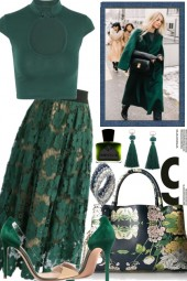 THE DARK GREENS FOR SUMMER AND FALL