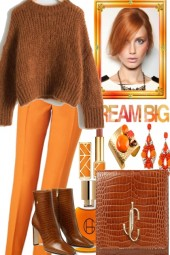 NICE DAY WITH COGNAC AND ORANGE