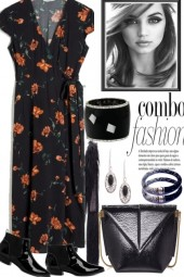 FLOWERS FOR FALL, BUT BLACK