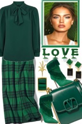 LOVE THE GREENS