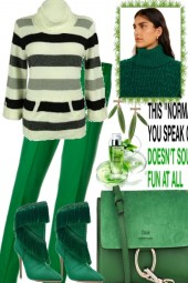 GREEN FOR WINTER, FEEL THE SPRING