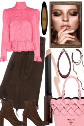 PINK FOR BROWNIES IN SPRING