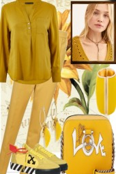 COMFY IN YELLOW...