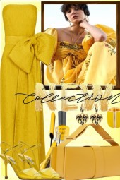 YELLOW FOR AN ELEGANT EVENING