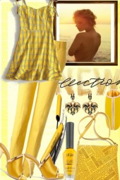 YELLOW COLOR OF THE SUMMER