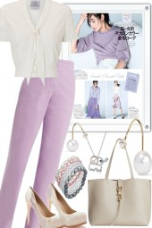 LAVENDER TOUCH THE WHITES