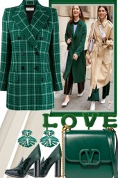 OFFWHITE AND GREEN