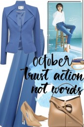 OCTOBER TIME FOR A CLASSY STYLE