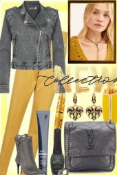 NEW COLLECTION: GREY AND YELLOW
