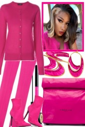 TOTALLY PINK. .