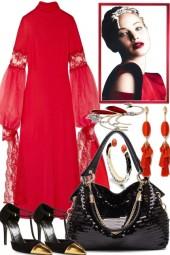 ELEGANT IN RED -