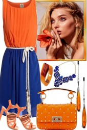 THE BLUES AND SOME ORANGE
