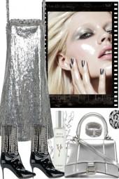 elegant in silver.