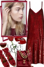 RED FOR VALENTINE