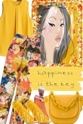 HAPPINESS IS THE KEY,