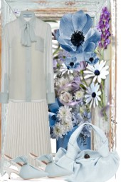 THE BLUES   WITH WHITE