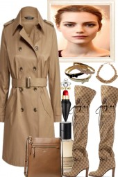 NEW TRENCH FOR SPRING-