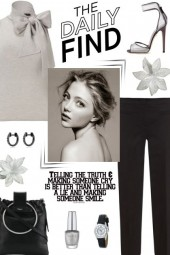 How to wear a Bow Neck Blouse!