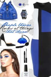How to wear a Color Block Sheath Dress!