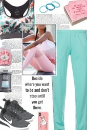 How to wear a Floral Sports Bra!