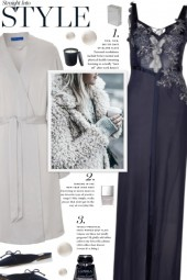 How to wear a Embroidered Silk Nightdress!