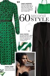 How to wear a Banded Waist Midi Dress!