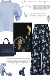 How to wear a Wide Leg Floral Culottes!