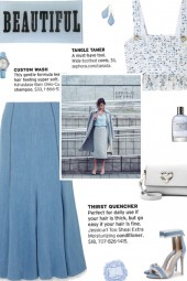 How to wear a Cropped Fringed Tweed Top!