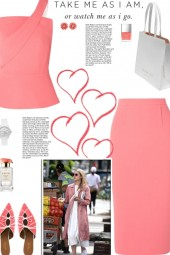How to wear a Co-Ord One Shoulder Skirt Suit!