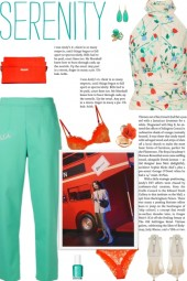 How to wear a High Neck Racerback Floral Top!