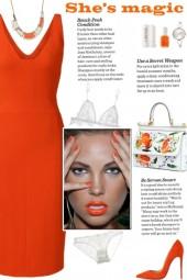 How to wear a V-Neck Bodycon Sheath Dress!