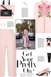 How to wear a Solid Color Cropped Culottes!