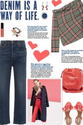 How to wear an Off Shoulder Draped Plaid Top!
